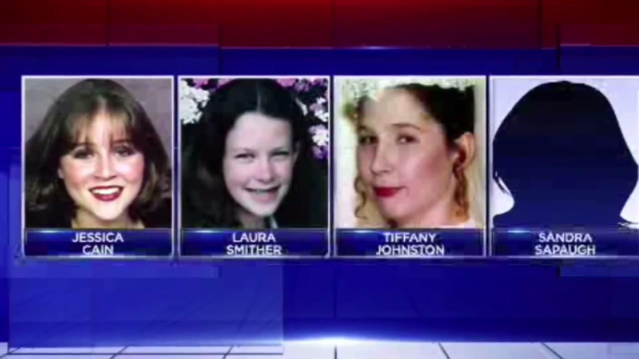Four missing girls, all linked together