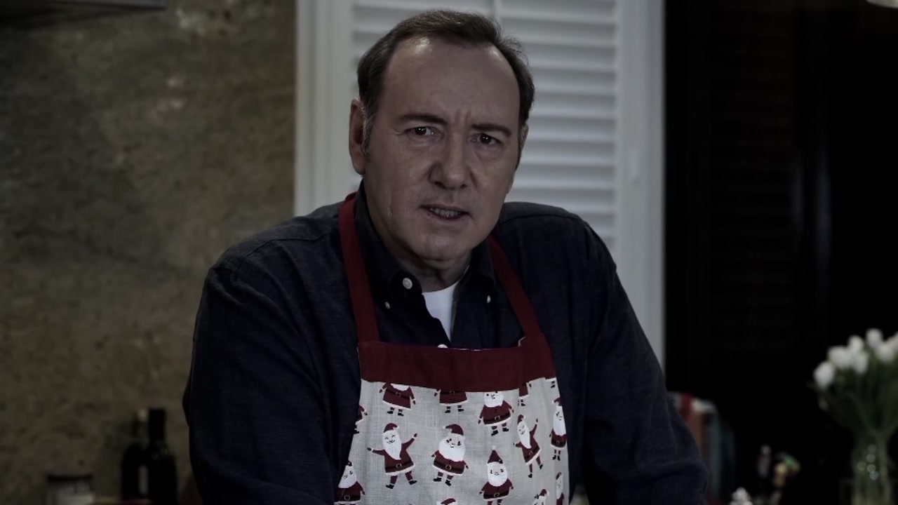 Kevin Spacey releases video amid criminal complaint.