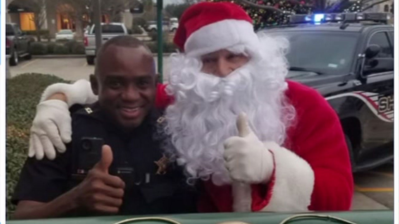 A deputy tried to stop the woman on Christmas Eve but she kept going only to pull over miles later.
