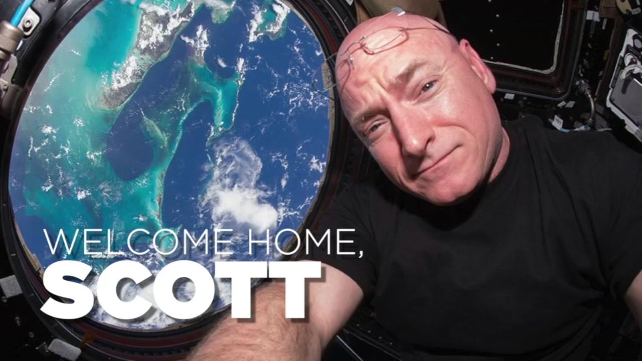 Welcome Home Scott Kelly