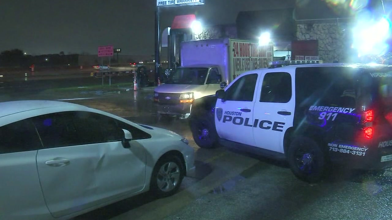 Boy hit by shrapnel after tire shop employee blasts bullets during fight