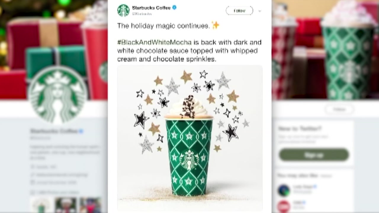Starbucks brings back special New Years drink collection