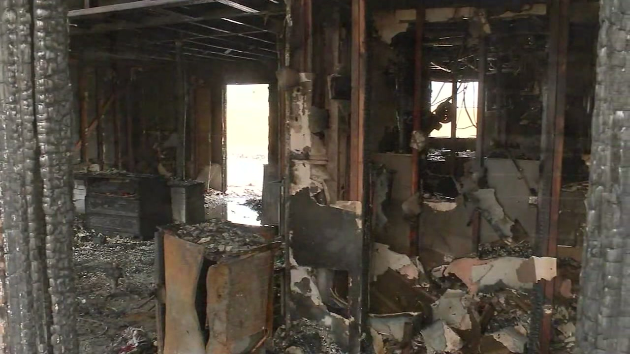 Just days after Christmas, a Pasadena lost everything in an apartment fire, including their two dogs.