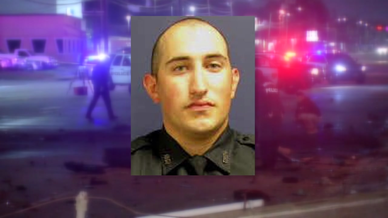 A family spokesperson said Officer John Daily is taking things one day at a time.