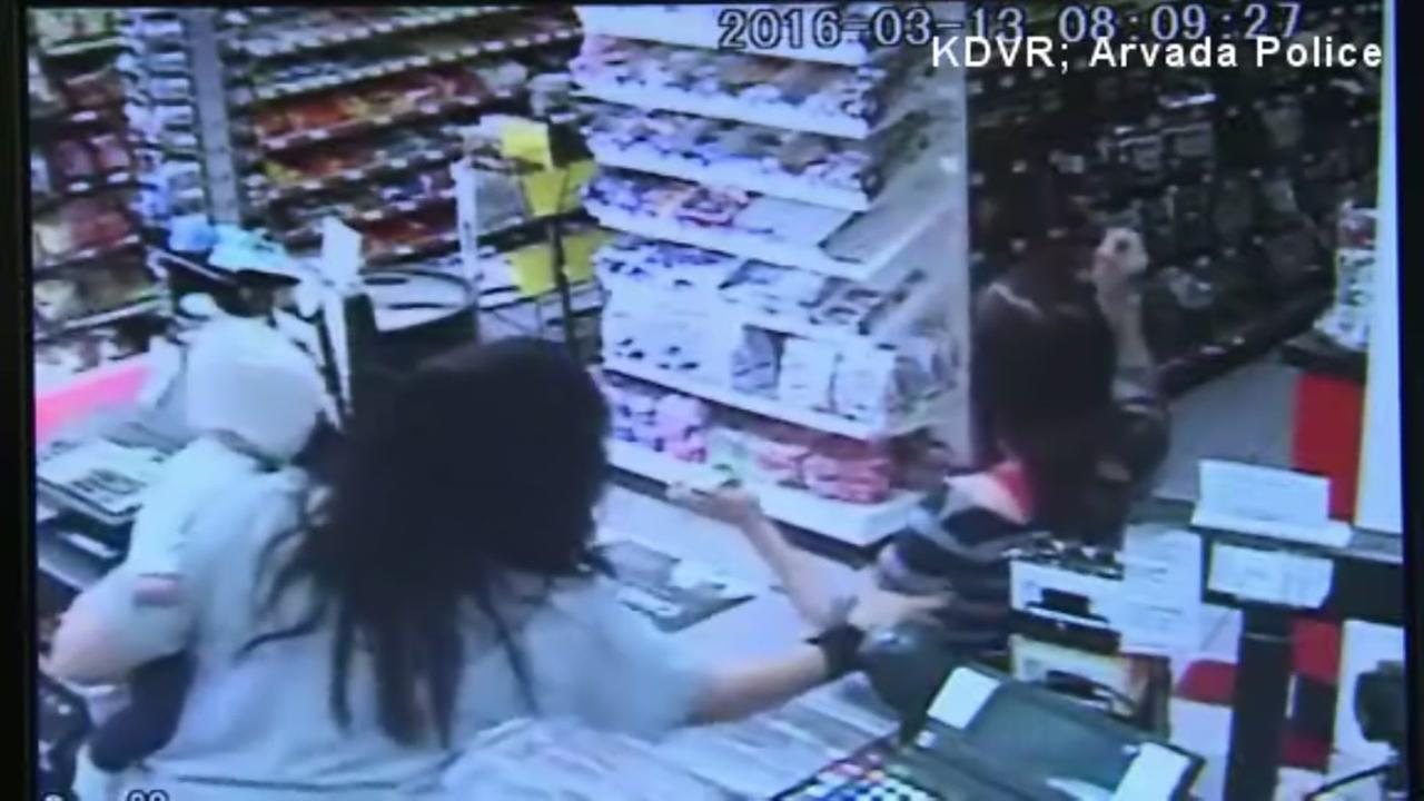 Store Clerk Seizure