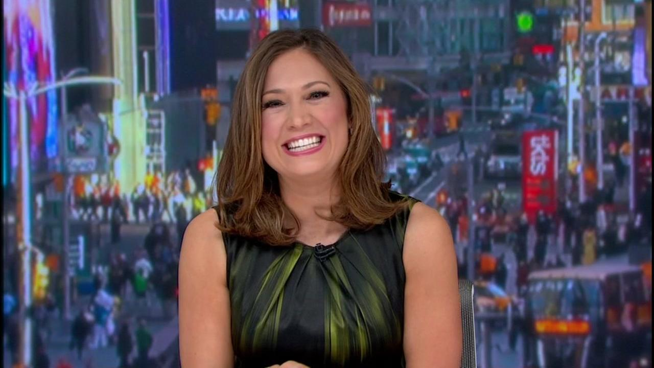 Ginger Zee on Dancing with the Stars