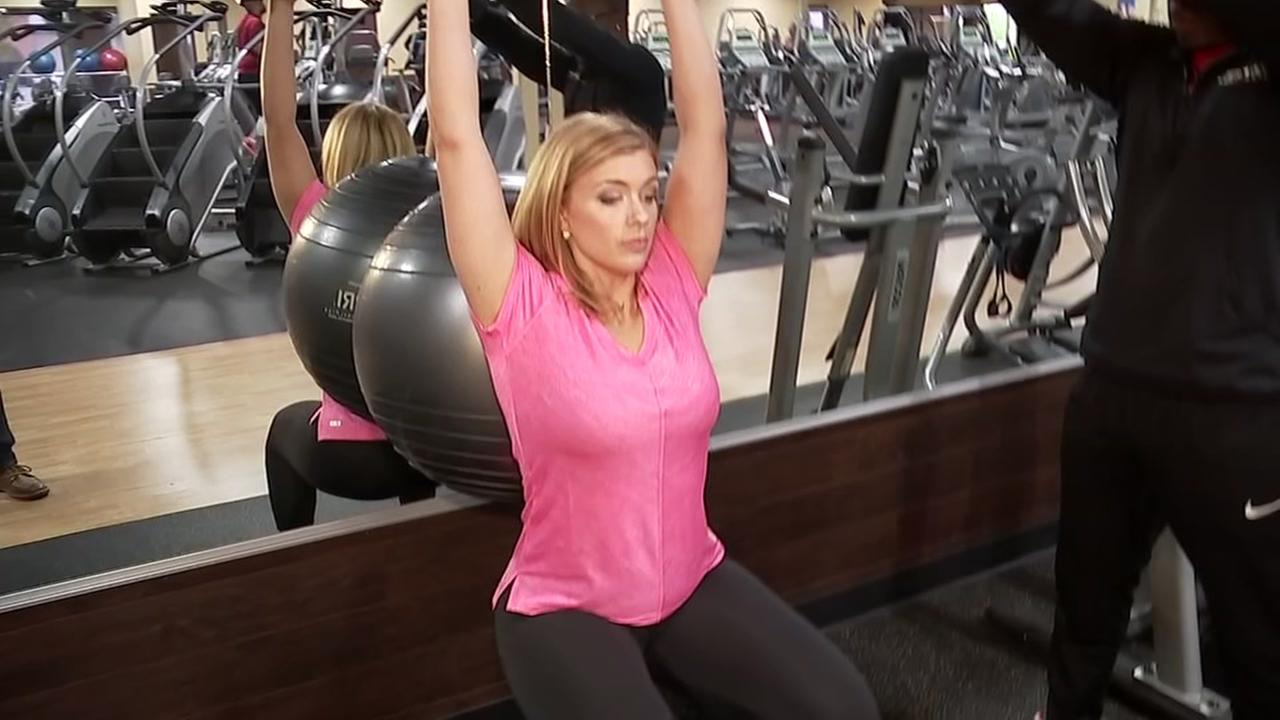 Tips for exercises with a stability ball.