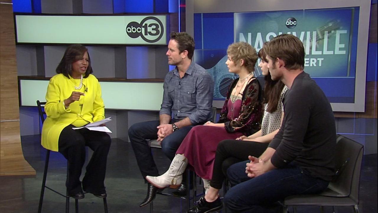 Melanie Lawson catches up with the stars of Nashville