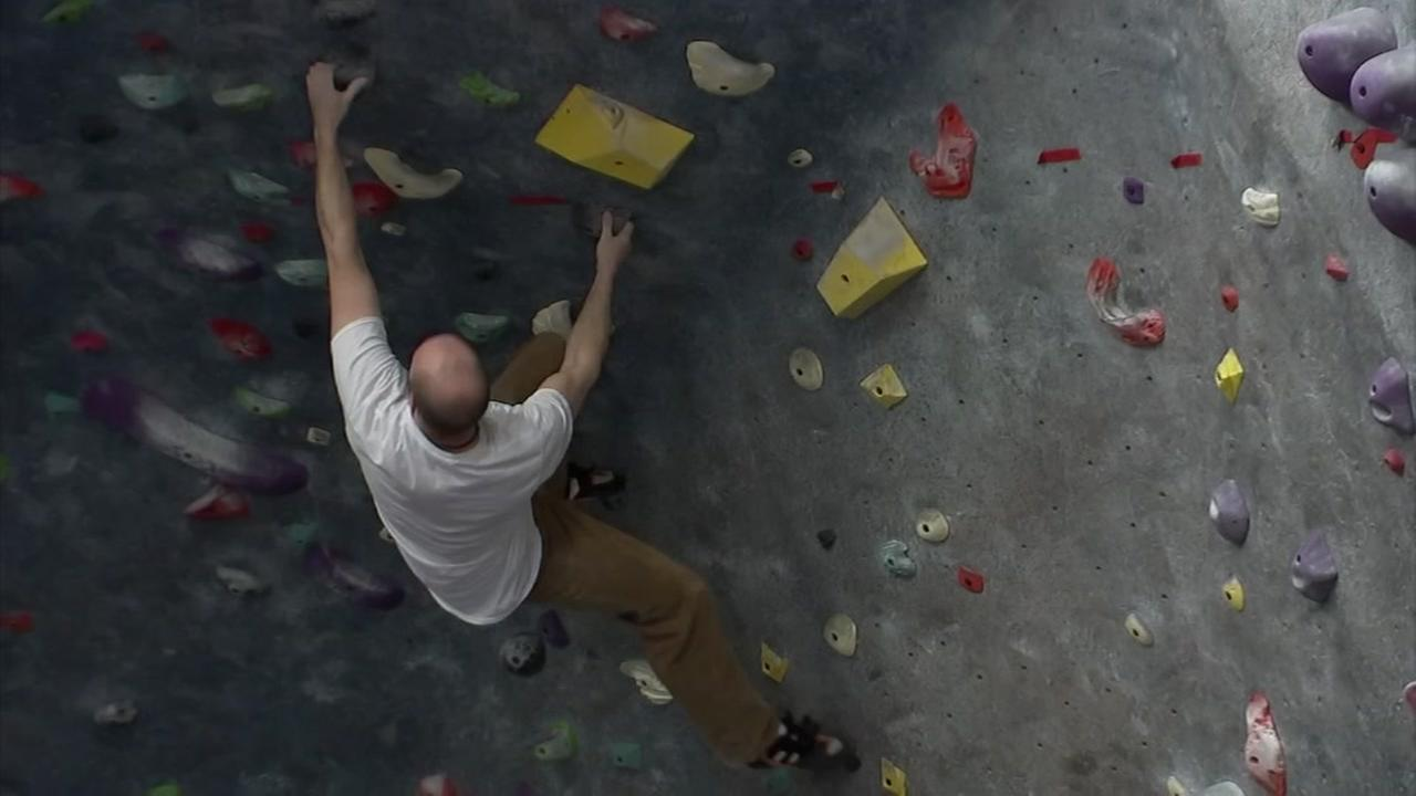 Cool Spaces: Rock climbing