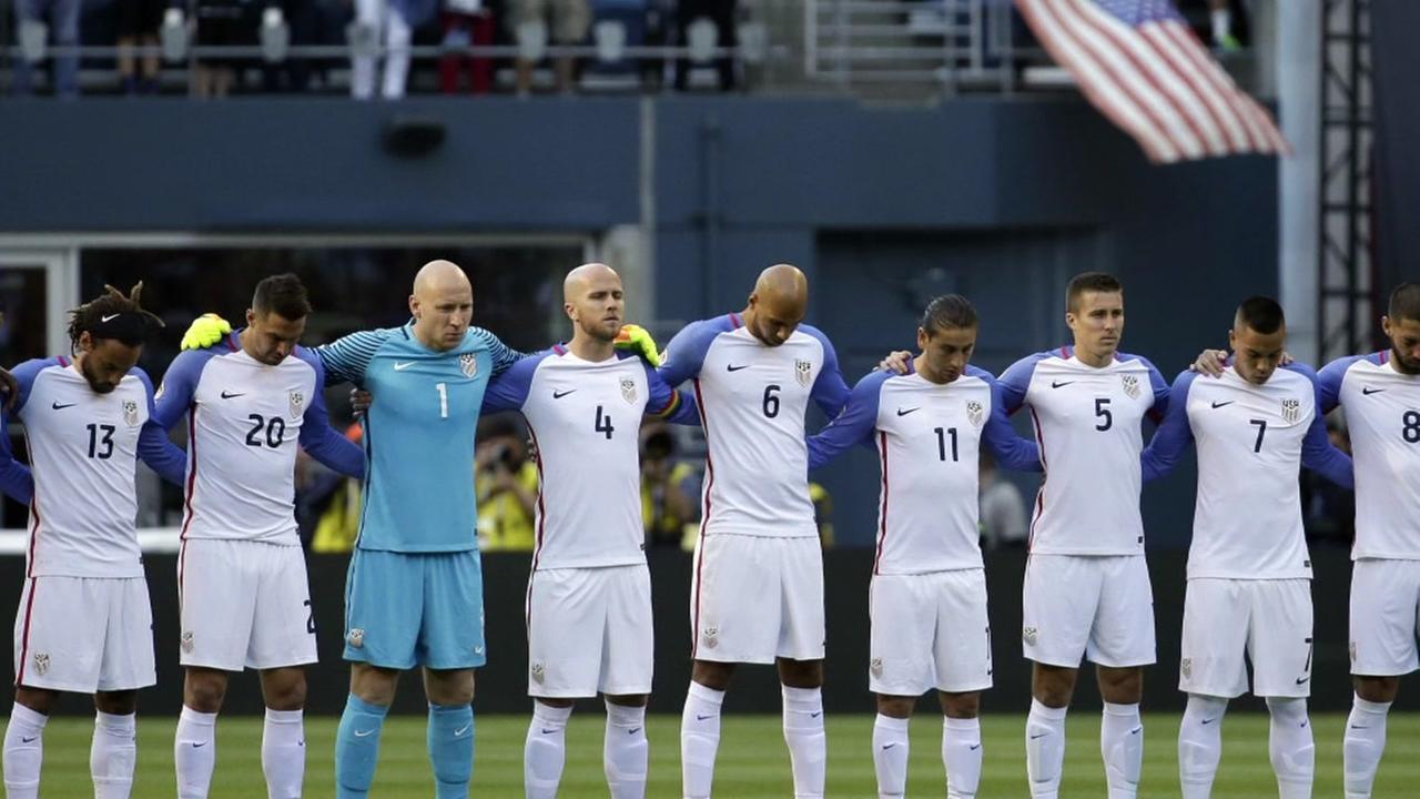 The U.S. faces Argentina in soccer semi-final in Houston