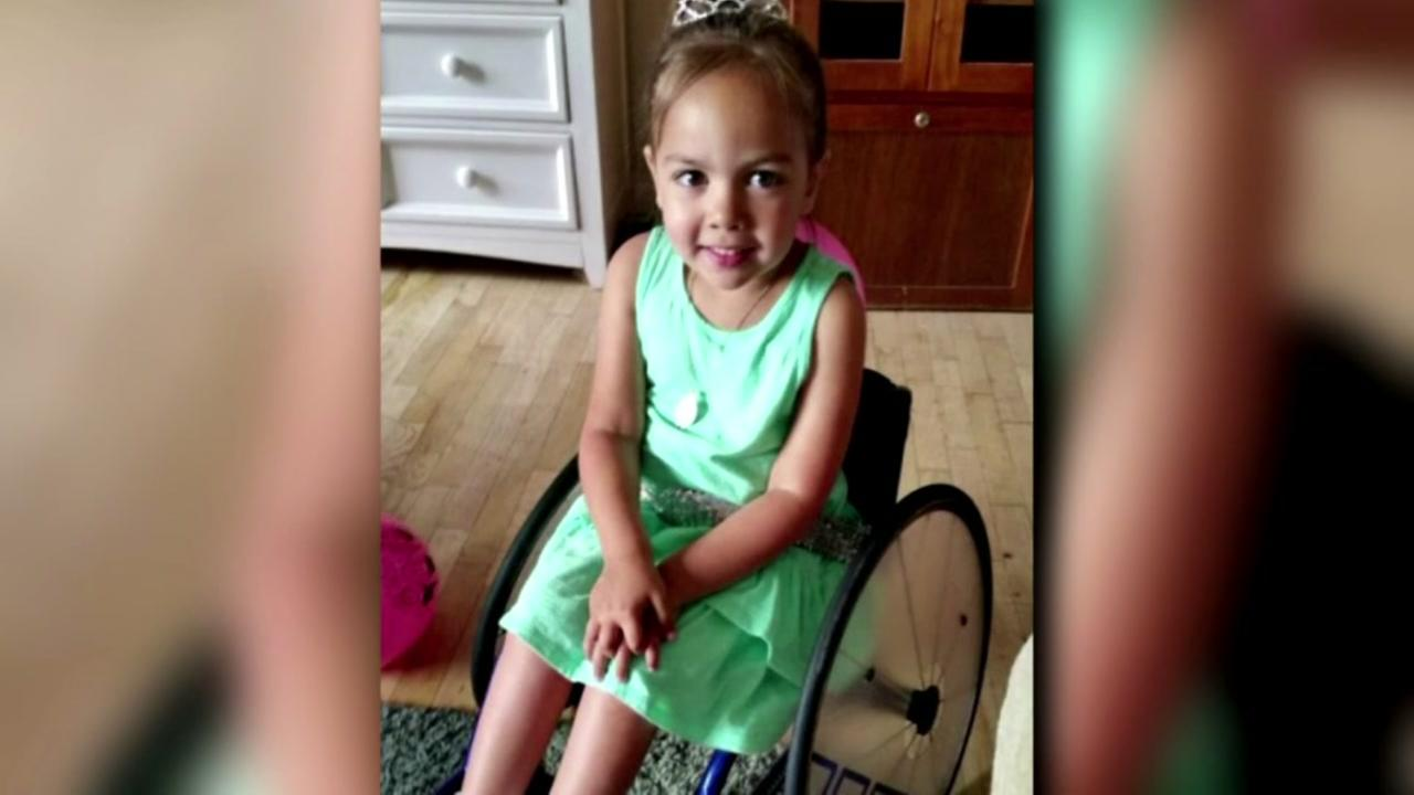 Family looking for childs lost wheelchair