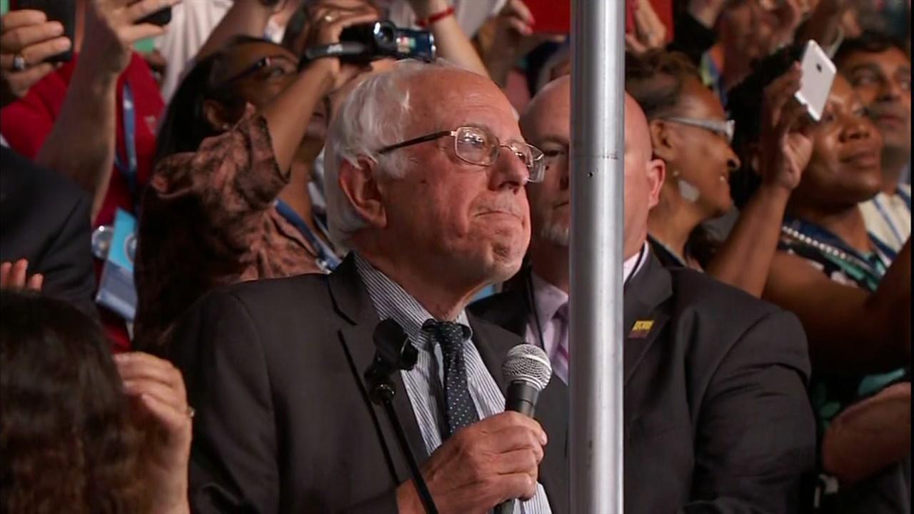 Sen. Bernie Sanders in Vermonts roll call