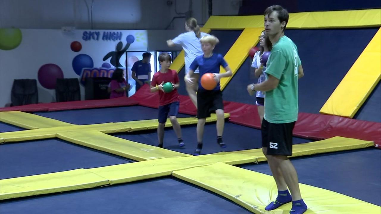 COOL SPACES: Sky High Sports Trampoline Park