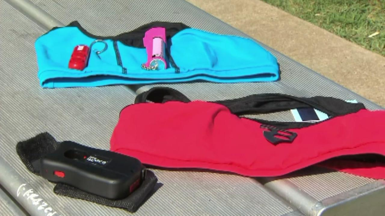 Texas company sells sports bra with knife compartment