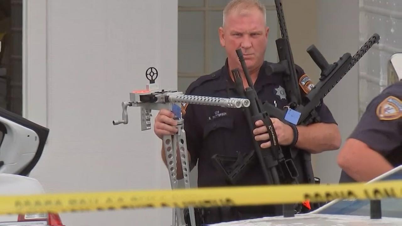 Sheriffs department seizes guns at South Houston bingo hall