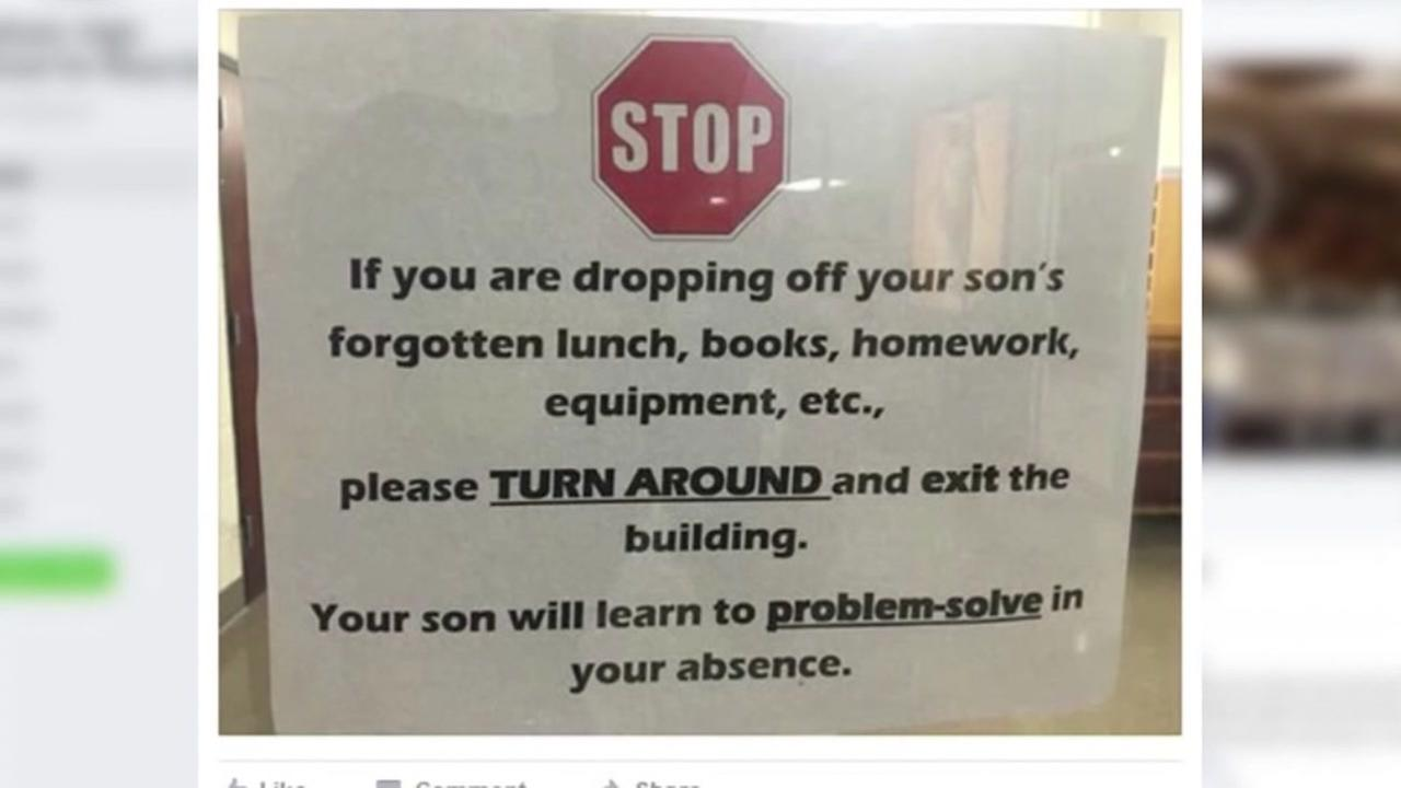 School rule going viral