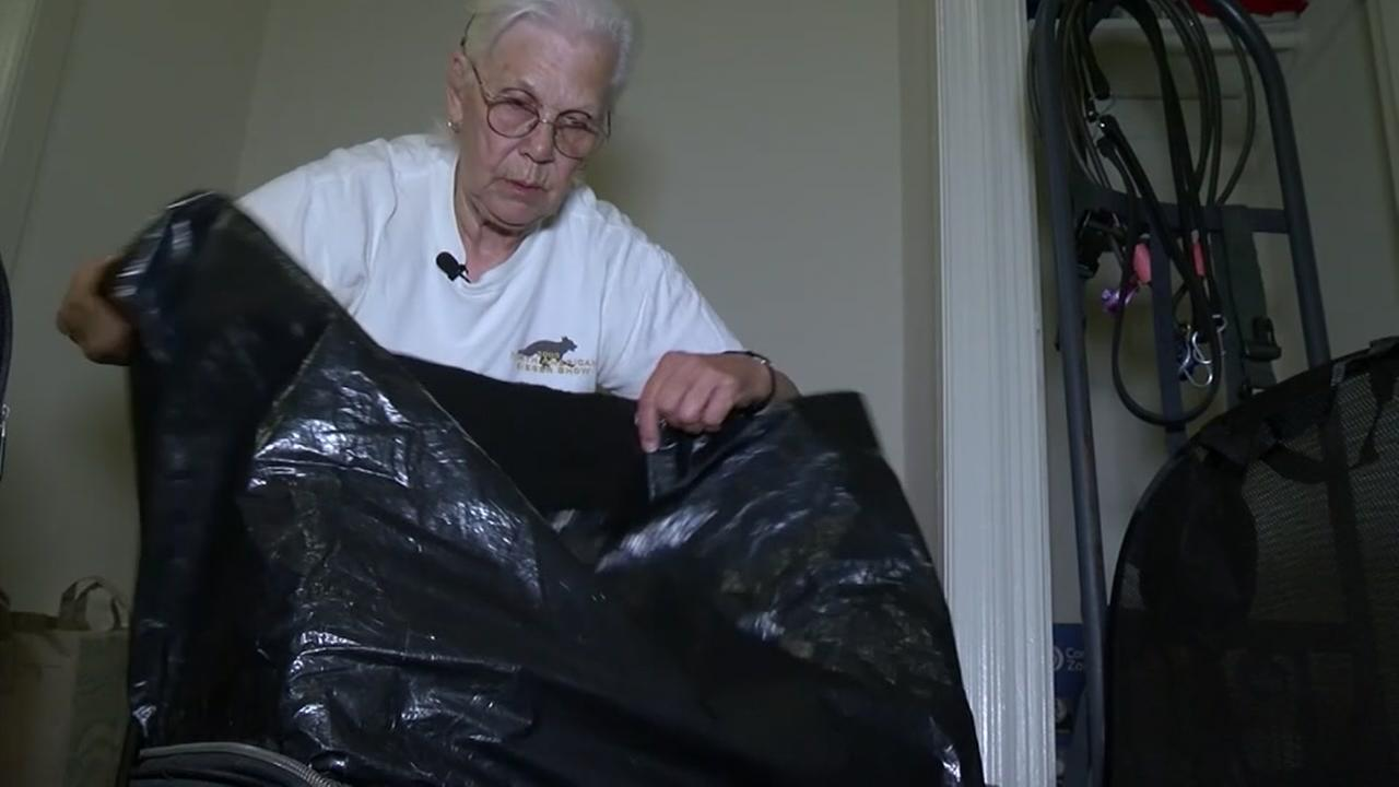 Homeless woman gets $100K from social security