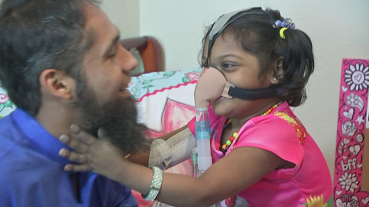 Parents in need of support to save daughter awaiting operation