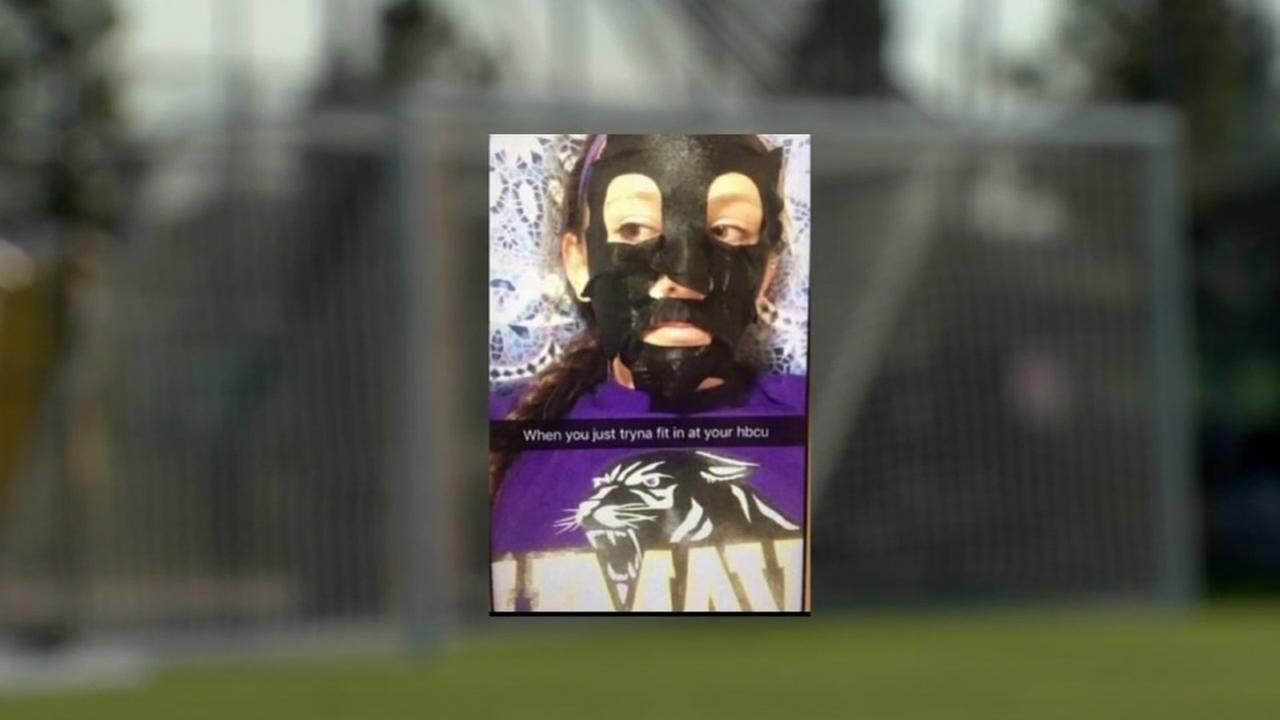 Prairie View A&M student under fire for blackface Snapchat post