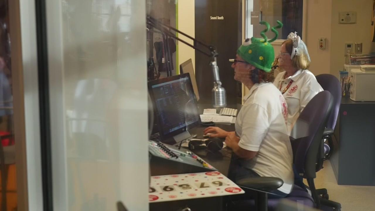 Inside Texas Childrens radio station