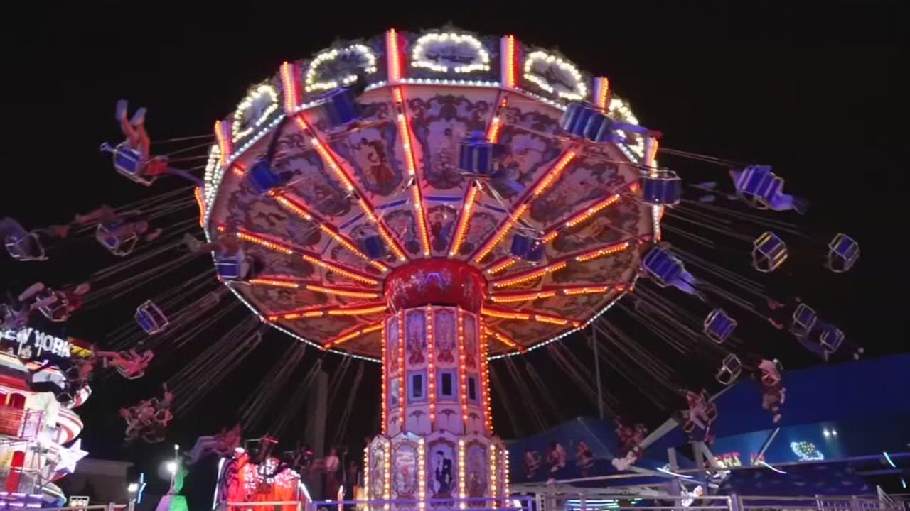 State Fair of Texas after sundown