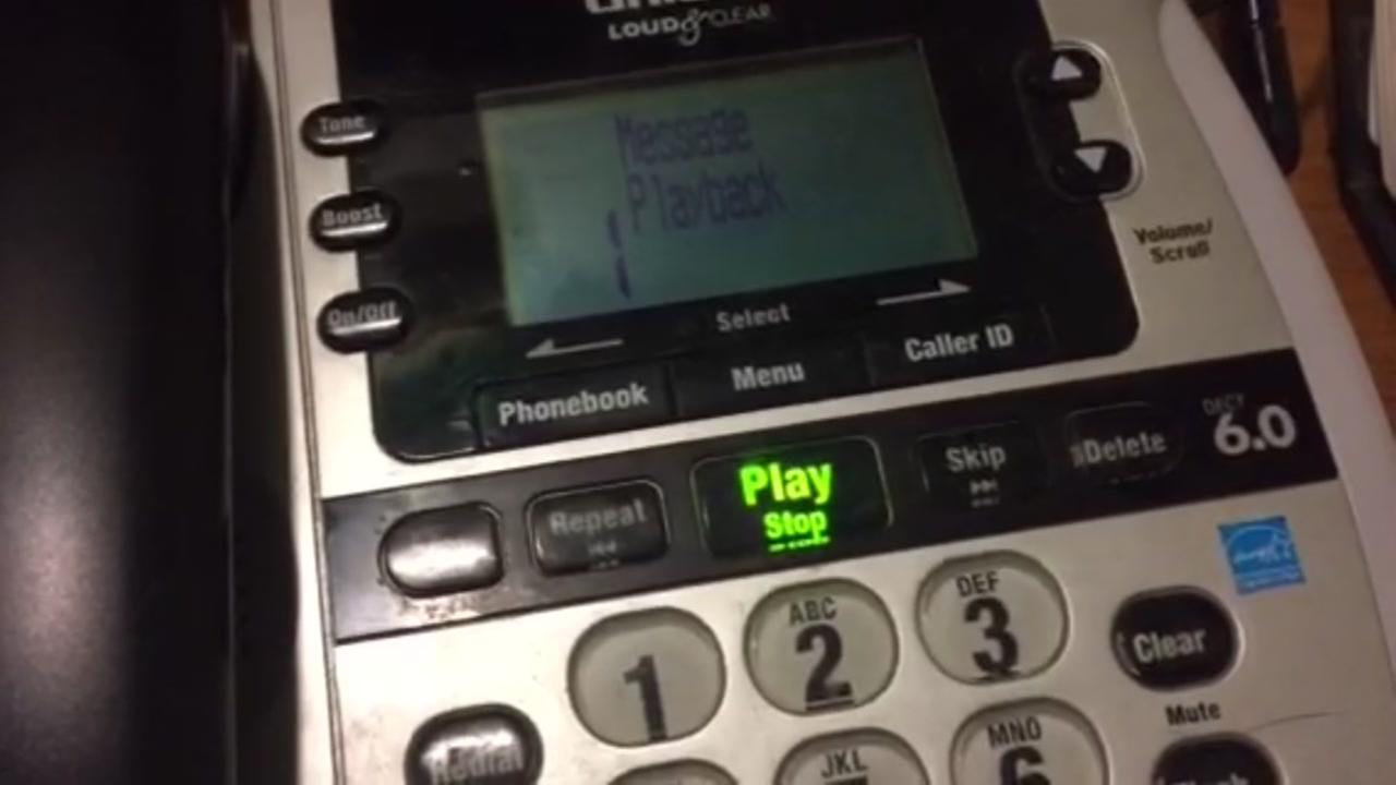 Inside call scam