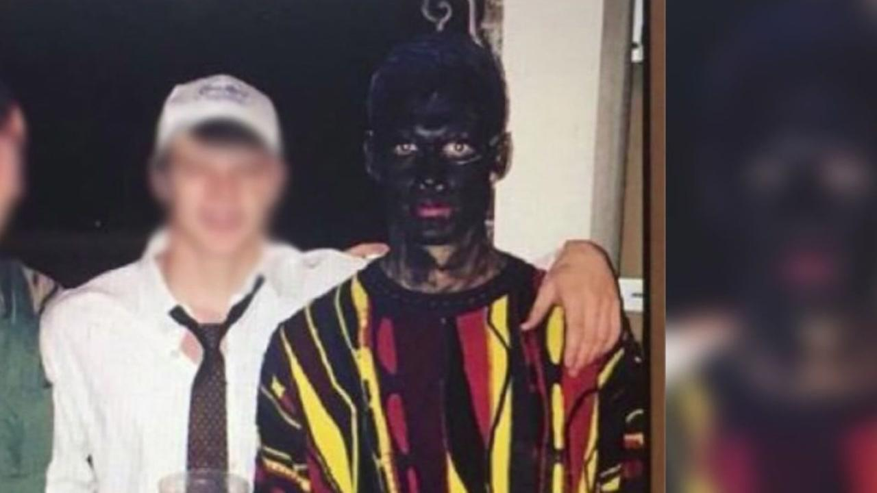 Blackface costume