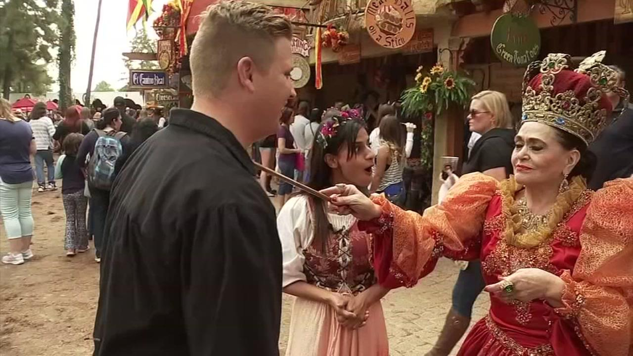 ABC13 heads to the Texas Renaissance Festival