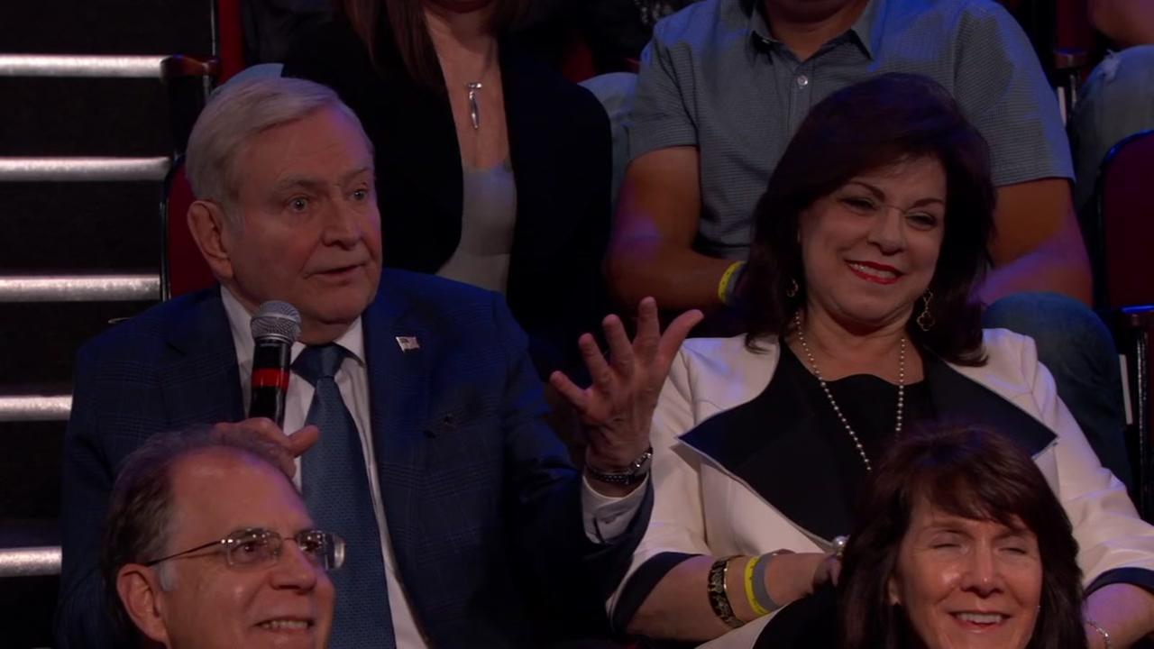 Dave Wards stops by Jimmy Kimmel