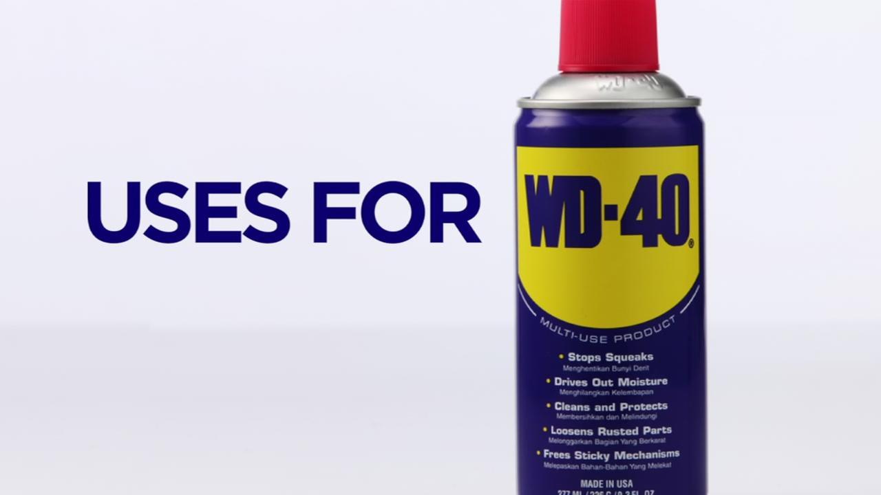 Lifehack: Uses for WD-40