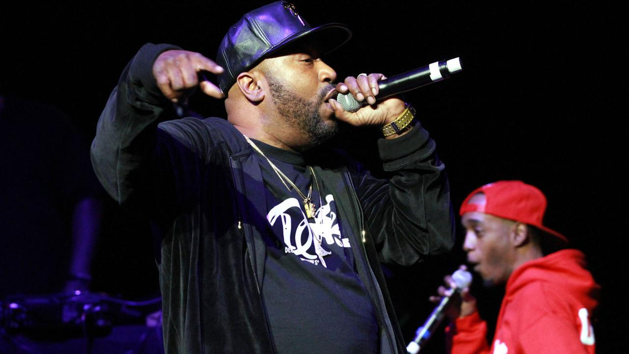 Bun B performs during the Legends of Southern Hip Hop Tour at the Fox Theatre on Saturday, March 19, 2016, in Atlanta.