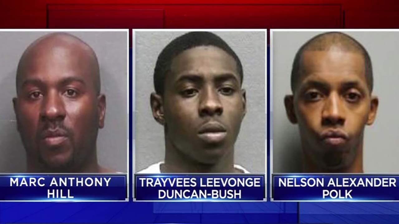 Suspects in armored car robberies face judge