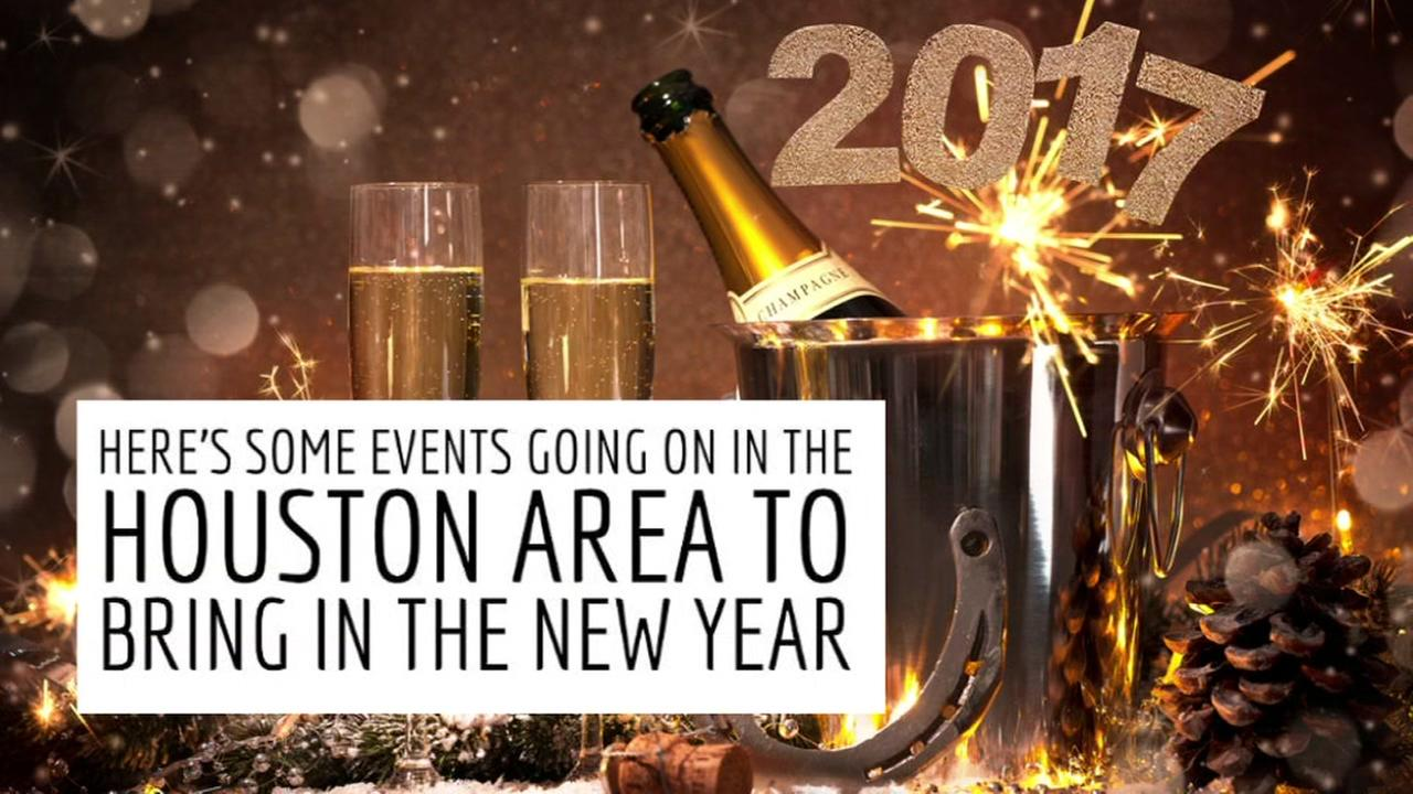 Houston area New Years Eve parties