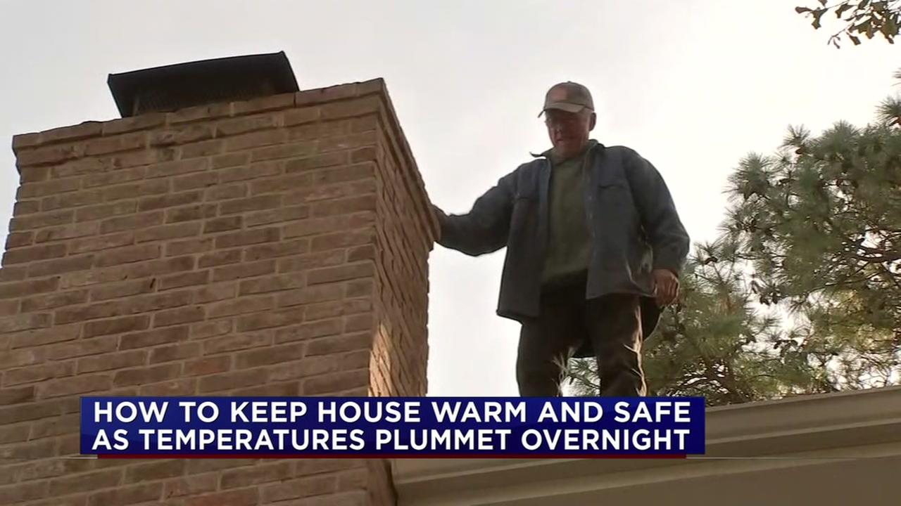 How to keep your house warm and safe when temperatures drop