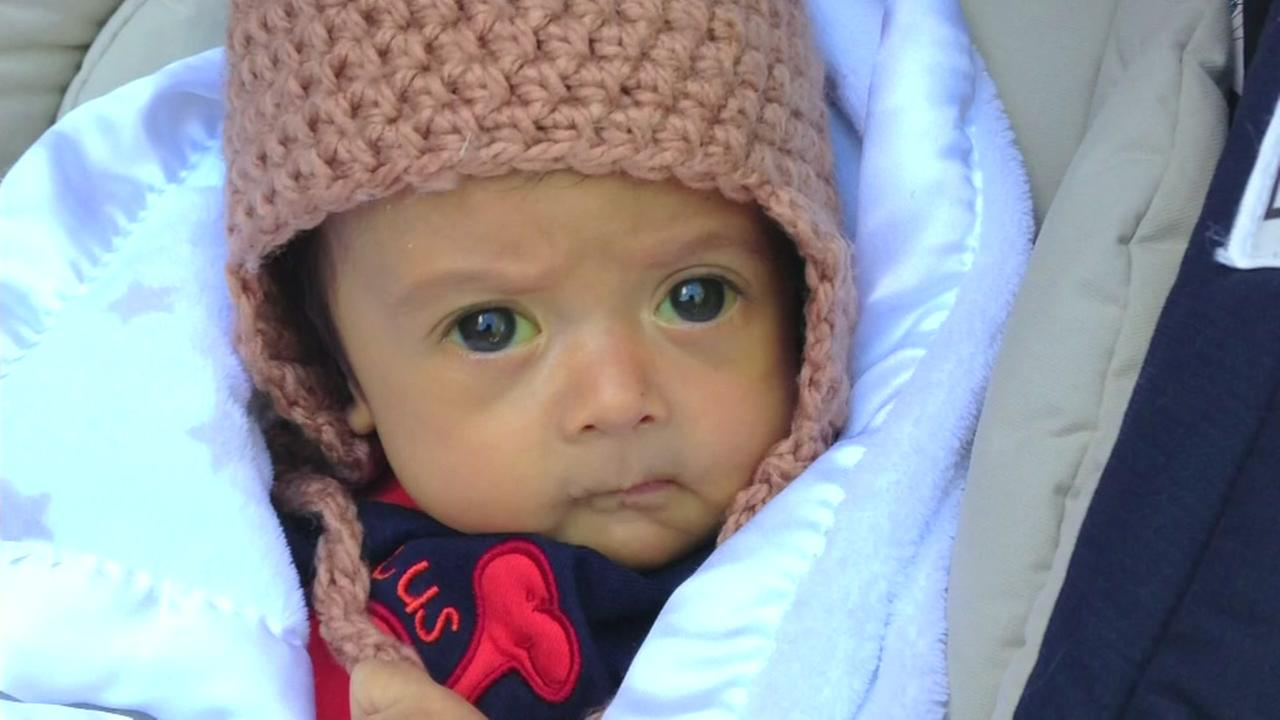 Baby on liver transplant list for only 40 min.