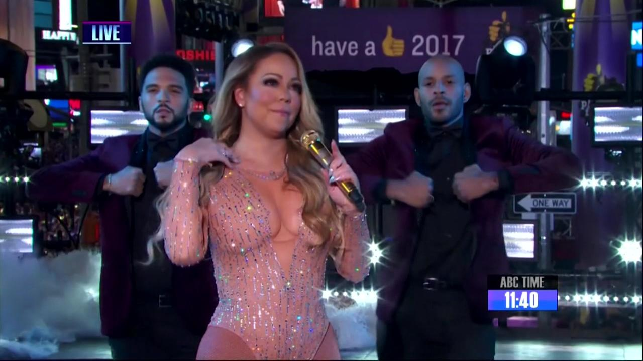 Careys New Years show is latest mishap in the spotlight