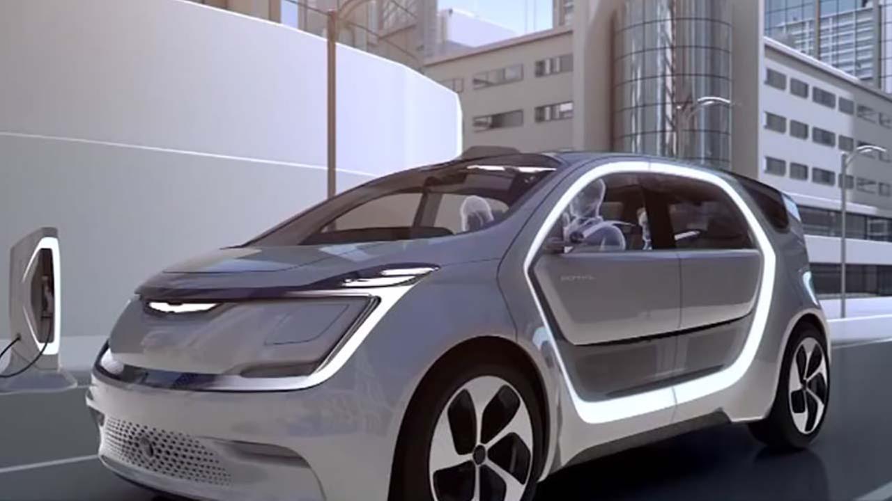 Chrysler unveils concept car with selfie camera