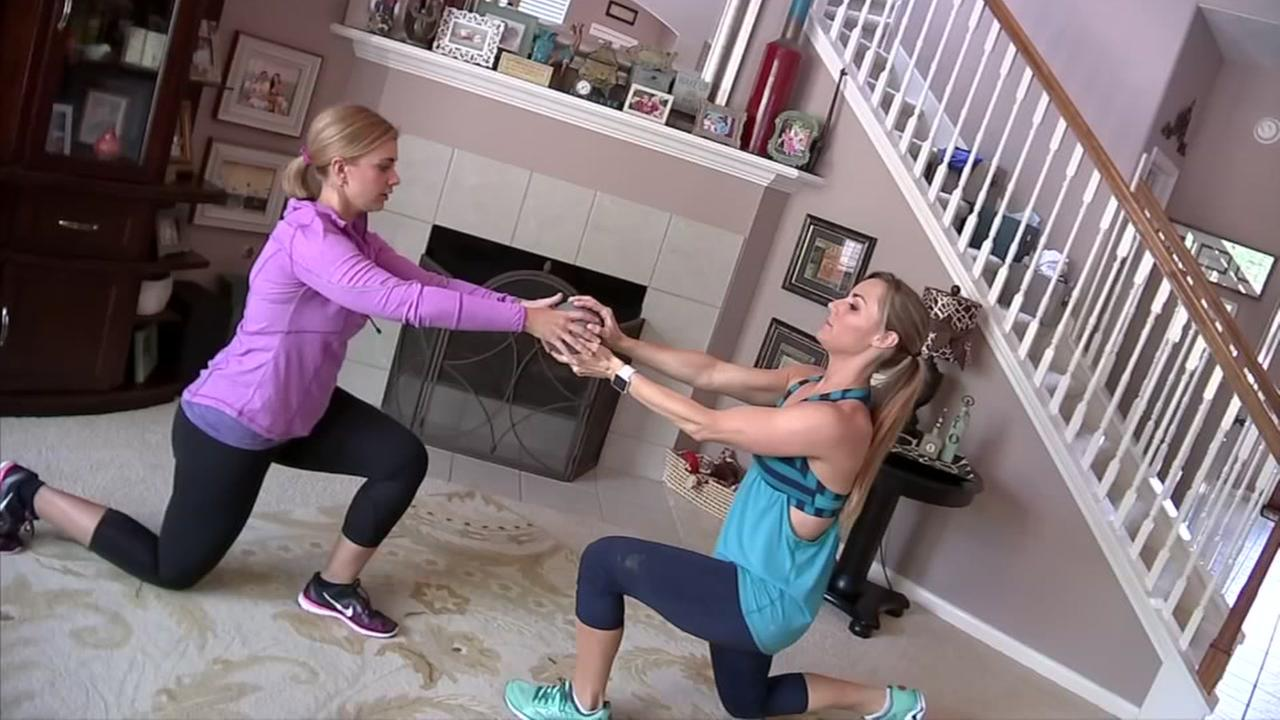 Mirror Mirror: Workout with a buddy