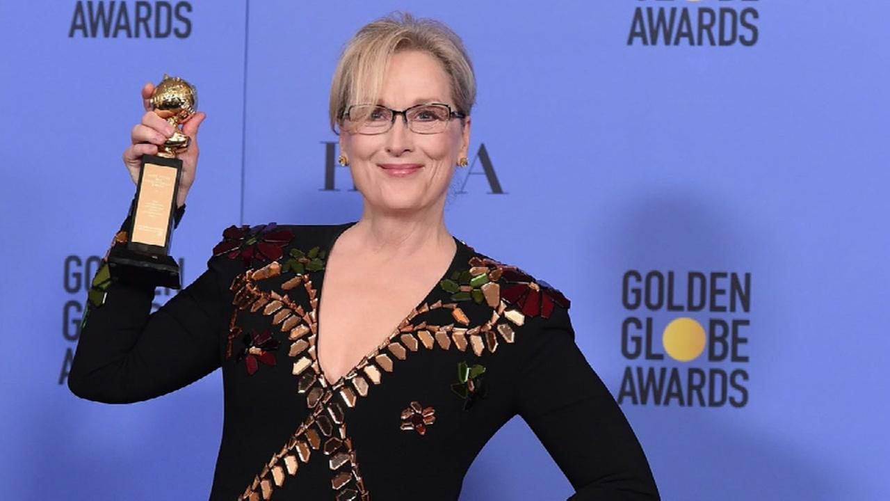Meryl Streep takes on Donald Trump