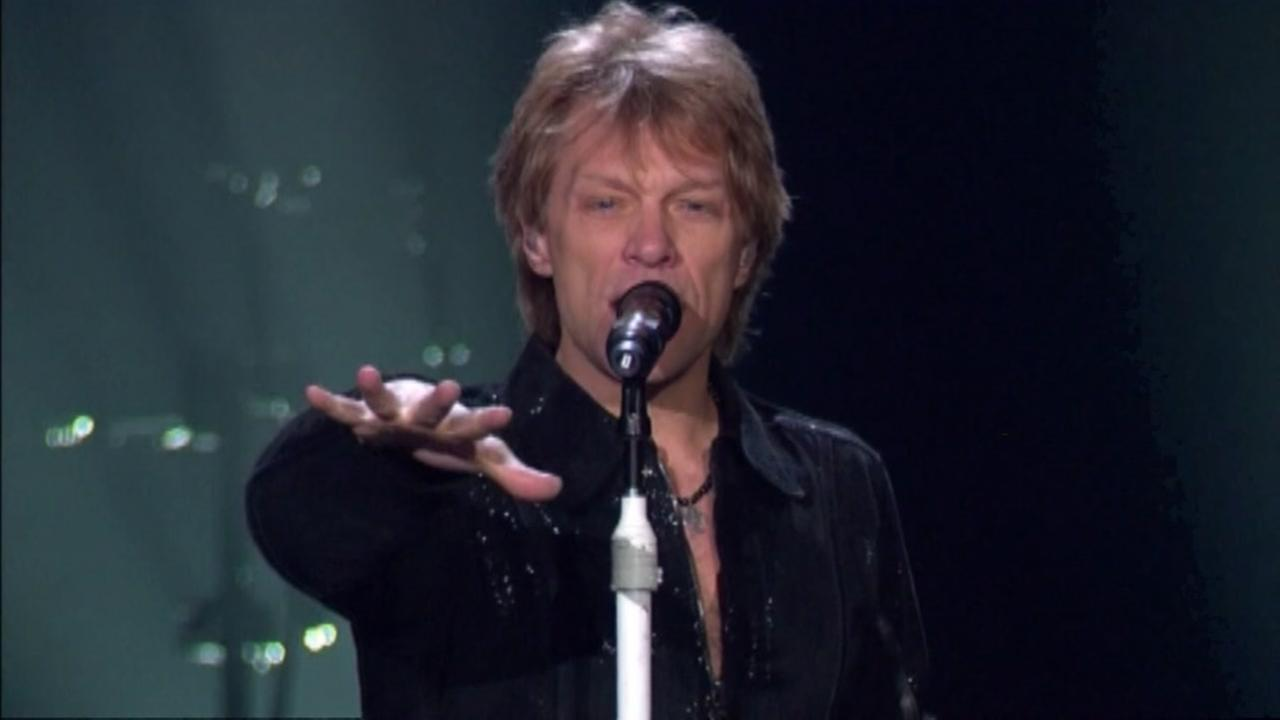 Bon Jovi offers bands a chance to open for them.
