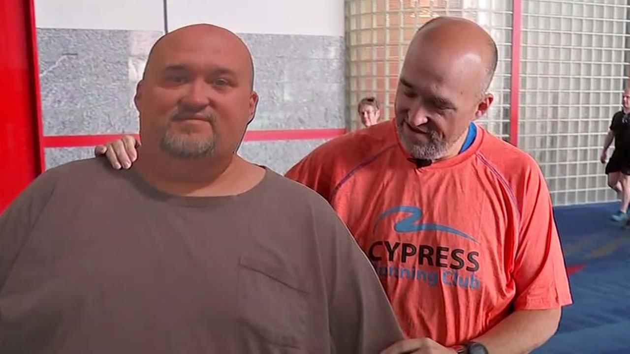 Marathon runner used to weigh nearly 500 pounds
