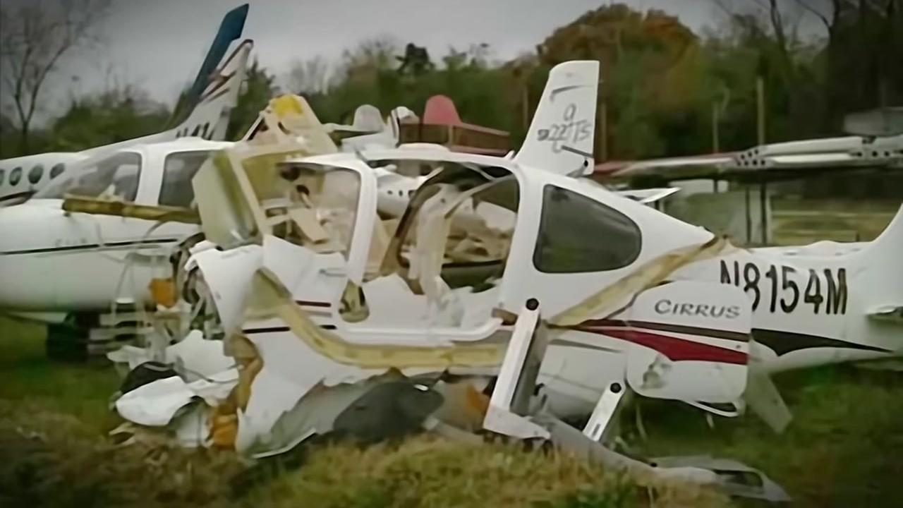 Piece of crashed Texas plane found on California coast