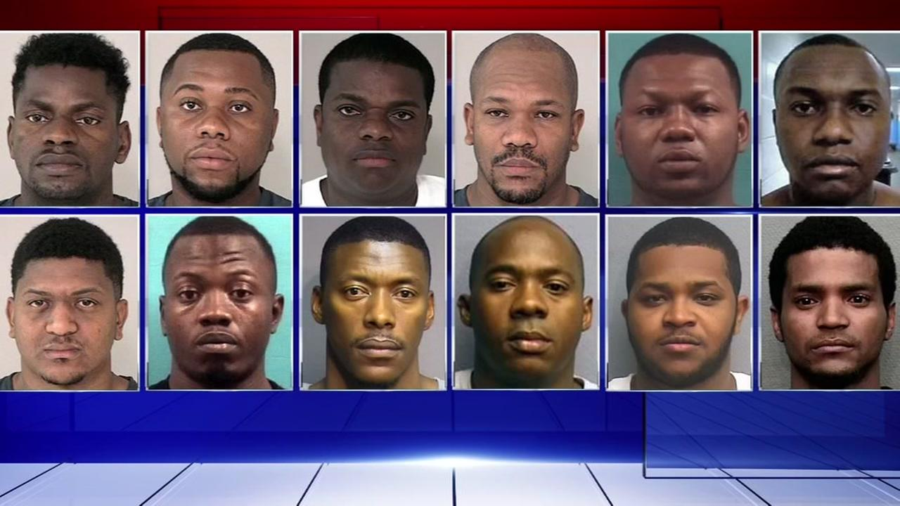 17 people arrested in alleged burglary ring