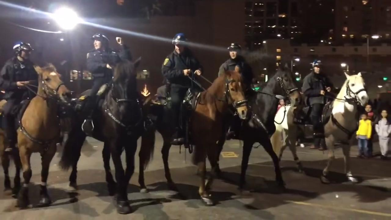 HPD Mounted Patrol gets down to ZZ Top