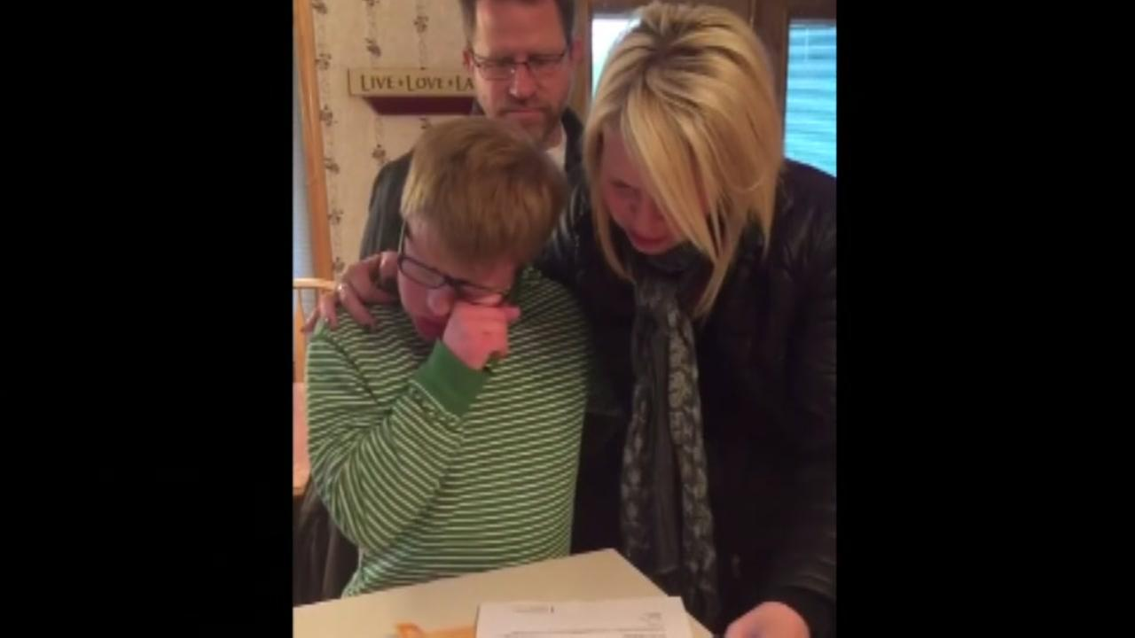Teen with special needs is going to college