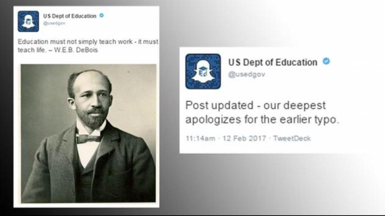 Dept. of Ed misidentifies civil rights activist, botches apology