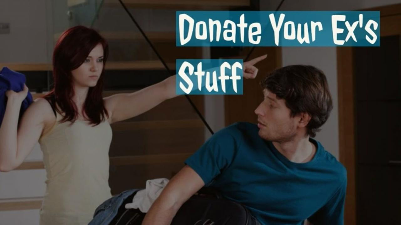 Goodwill says donate your exs stuff to them