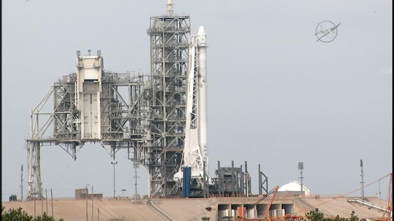 SpaceX launch scrubed seconds before launch