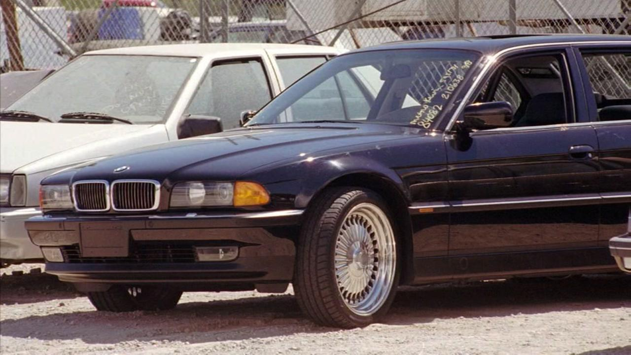 Car in which Tupac was shot goes up for auction