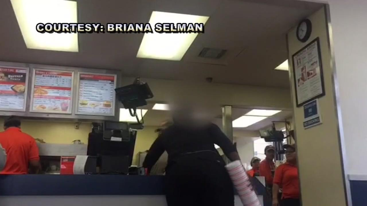 Customer causes a scene at Whataburger over order